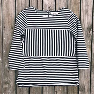 Madewell Gallerista Ponte Striped Top